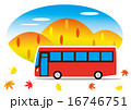 ベクター 秋 バスのイラスト 16746751