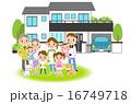 家族・マイホーム 16749718