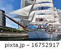 帆船 日本丸 総帆展帆の写真 16752917