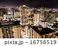 ハワイオアフ島の夜景 16756519