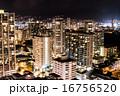 ハワイオアフ島の夜景 16756520