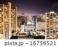 ハワイオアフ島の夜景 16756521