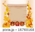 かぼちゃ カボチャ 南瓜のイラスト 16760168