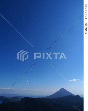薩摩半島から見るH2Aロケットの軌跡 16763630