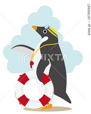 アデリーペンギン スイミング 16766987