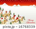 スノーマン ベクター メリークリスマスのイラスト 16768339