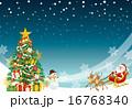 クリスマス 背景 16768340