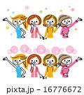女性 グループ 16776672