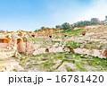 ベイト・ラースのローマ劇場(ヨルダン、イルビッド北) 16781420