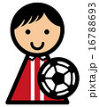 選手 アイコン ベクターのイラスト 16788693