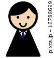アイコン 新入社員 ベクターのイラスト 16788699