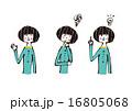 ベクター レトロ 表情のイラスト 16805068