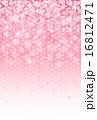 桜 年賀状 背景  16812471