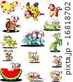 昆虫キャラクター 16818702
