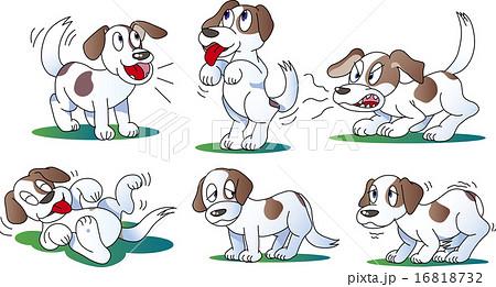 犬のポーズ 16818732