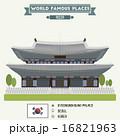 Gyeongbokgung palace. Seoul, Korea 16821963