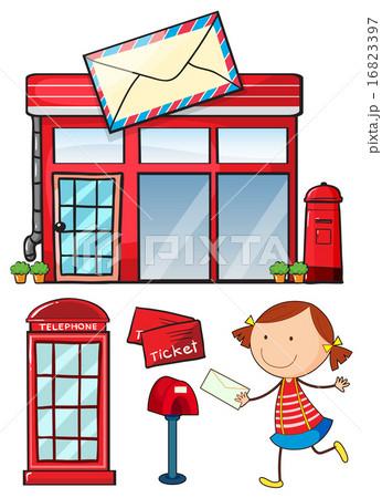 Postal 16823397 pixta for Oficina de correos en alcobendas