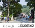 高尾山ケーブルカー清滝駅前の参道 16866302