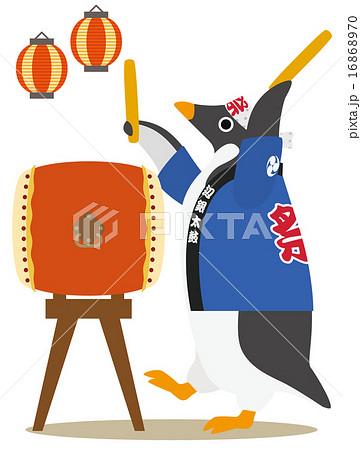 アデリーペンギン 和太鼓 16868970