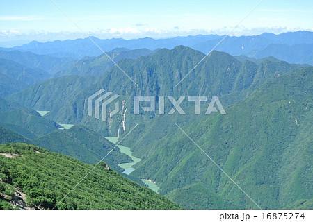 大台ケ原 コブシ嶺からの荒鷲山 16875274