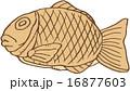 おやつ 鯛焼き ベクターのイラスト 16877603
