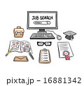 Searching for a job vector 16881342
