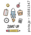 Start up idea concept vector 16881347