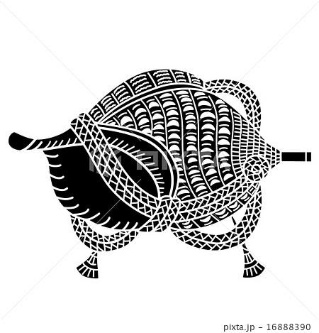 聖護院 法螺貝のイラスト素材 [16888390] - PIXTA