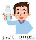 ペットボトル 水分補給 ベクターのイラスト 16888514