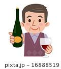 赤ワイン ベクター シニアのイラスト 16888519