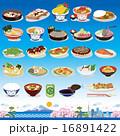 和食 アイコン 16891422