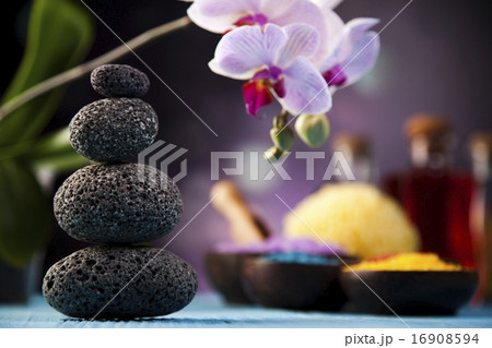Spa and wellness, fresh and organic conceptの写真素材 [16908594] - PIXTA