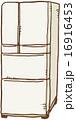 電化製品 野菜室 ベクターのイラスト 16916453