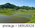 棚田 田んぼ 農村の写真 16918328