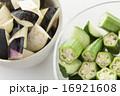 野菜 オクラ シンプル・白バックの写真 16921608