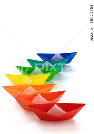 クリスマス 折り紙 折り紙 舟 : pixta.jp