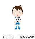 フットボール 少年 サッカーのイラスト 16922896
