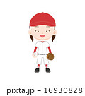 野球少女 ボールとグローブ 16930828