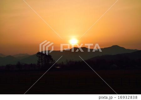 日高の朝日 16932838