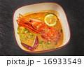 ボタンえび トムヤンクン 食べ物の写真 16933549
