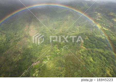ハワイのサークルレインボー 16945223