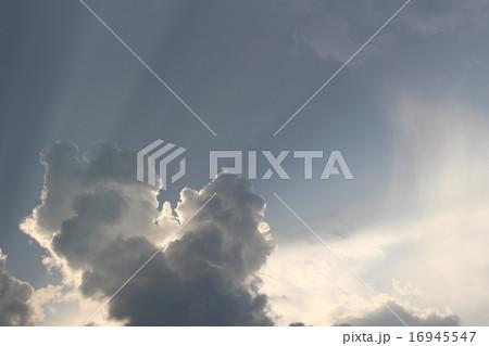 夕方の入道雲 16945547