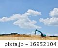 土地の造成工事現場 16952104
