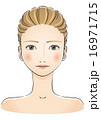 ビューティー 女性の顔 16971715