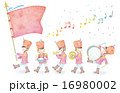 音楽隊のイラスト 16980002
