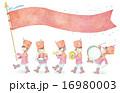 音楽隊のイラスト 16980003