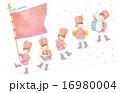 音楽隊のイラスト 16980004