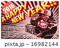 2016年賀状_アメコミ猿02 16982144