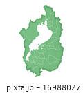 滋賀県地図 16988027