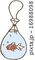 イラスト ベクター 金魚のイラスト 16988098